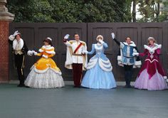 Princesses in Christmas Dresses!  SO excited 'cos I'llbe seeing these in person this December!!! 59 days!! WooHoo!!!