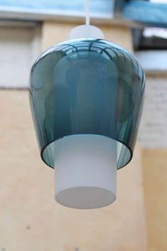 Tapio Wirkkala; Glass Ceiling Light for Raak, 1960.