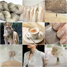 Sources: TFA Amber Label Cashmere/Silk DK in Sand, tassels, beach boy, lions, coffee, nails, feet, Nanook, flowers.