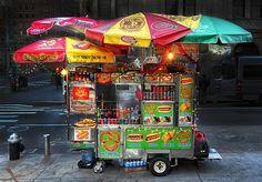 Street Vendor, New York City