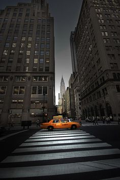 New York Taxi by André Viegas