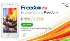 Wow! Inilah Freedom 251 Smartphone Dengan Harga Termurah Didunia!