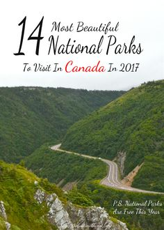 Canada is known for its nature. From the Rocky Mountains to our beautiful forests, iconic wildlife and northern lights, Canada is truly a nature-lovers paradise. The Canadian government thought so too, because in 2017 ALL CANADIAN NATIONAL PARKS ARE FREE. Canada National Parks, Parks Canada, Vancouver, Whistler, Canada Travel, Travel Usa, Rocky Mountains, British Columbia, Quebec