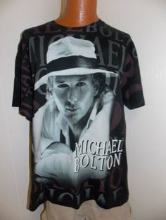 1990's Michael Bolton Concert Tour Mens T by PfantasticPfindsToo