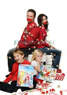Naughty is the new nice! #Christmas #photo card #photography www.jennifercampbellphotography.com