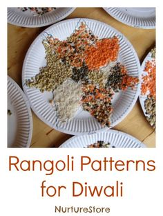 Gorgeous diwali rangoli patterns for kids, plus more Diwali activities http:// www.pinterest.com/veep300/