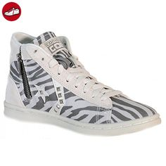 Hightop Sneaker Pro Leather LP Mid Can Zip PRI naturweiß/Grau EU 38 Converse IhK1oC7KJ