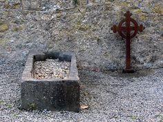 Cementerio. Kilkenny. Condado de Kilkenny, Irlanda