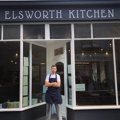 Bruce @elsworthkitchen #skipton #yorkshire #greatfood #localfood #seasonalfood