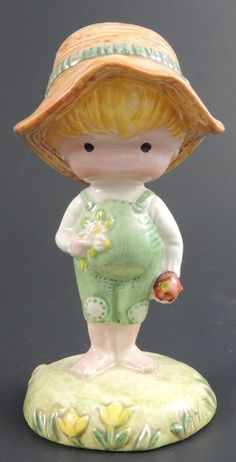 Vintage 1970 Joan Walsh Anglund Figurine Made by Beswick in England by BasketCaseStuff on Etsy