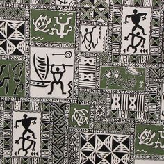 Petroglyph Tapa fabric. Check it out at HawaiianFabricNBYond.Etsy.com  Aloha :)