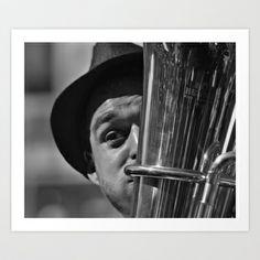 Tuba Player Art Print by Yarapoctli - $14.60