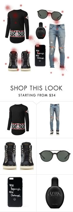 """""""#new_set_20"""" by benelux2 ❤ liked on Polyvore featuring RtA, Yves Saint Laurent, Giorgio Armani, Calvin Klein, men's fashion and menswear"""