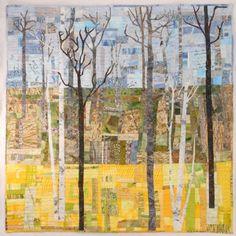 TAFA: The Textile and Fiber Art List  Kathie Briggs  Art Quilt - Trees