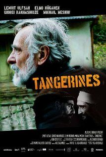 Tangerines (2013)  (foreign language film) drama  8.5 War in Abkhazia 1990. An Estonian man Ivo has stayed behind to harvest his crops of tangerines. In a bloody conflict at his door, a wounded man is left behind, and Ivo is forced to take him in.