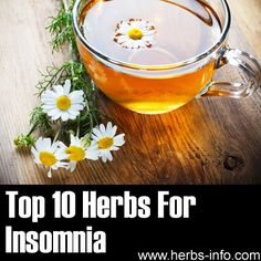 ❤ Top 10 Herbs For Insomnia ❤