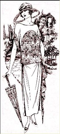 1923 - silhouette