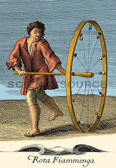 Rota Fiammenga, 18th Century Toy