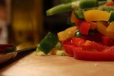 Tocăniţă de ardei copţi (de la 6 luni) | Diversificare.ro Stuffed Peppers, Vegetables, Food, Bebe, Stuffed Pepper, Vegetable Recipes, Eten, Stuffed Sweet Peppers, Veggie Food