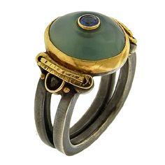 Michael Boyd: Gem Silica Ring Gem silica, one of Michael Boyd's favorite gems…