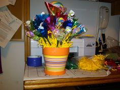 Birthday Candy Boquet