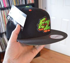 7330b7da176 Electric Zombie New Era Snapback Hat Sample RARE