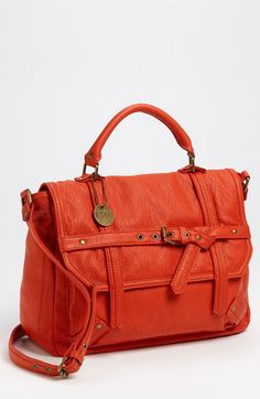 Didn't see this coming - but I will need to purchase an orange handbag. Period.