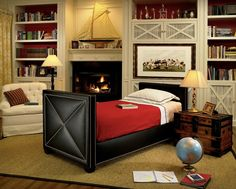 Boys rooms with a difference...