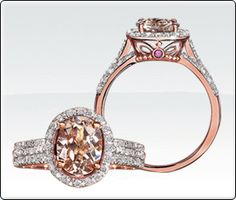 Exclusively Ours! JK Crown Collection: Introducing Morganite and Diamond Ring