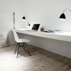 Want a built-in desk like this!