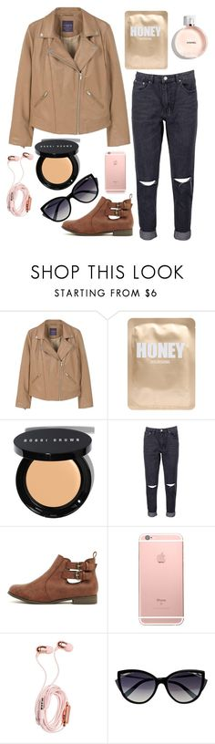 """""""montreal with WDW"""" by maria143sara on Polyvore featuring MANGO, Lapcos, Bobbi Brown Cosmetics, Boohoo and La Perla"""