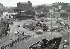 St Stephen's Street roundabout