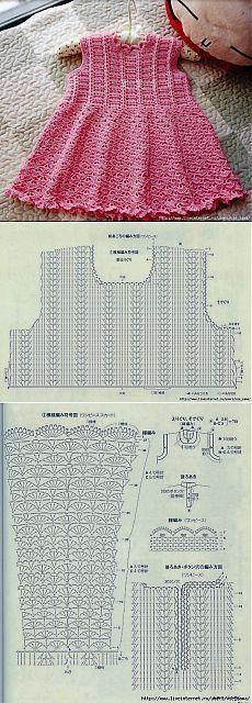 patrones de canesu a crochet -