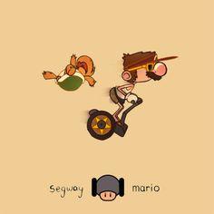 Segway Mario - Chris Gerringer