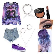 """""""Untitled #17"""" by hemmosnose on Polyvore featuring Vans, Tiffany & Co., Smashbox and NYX"""