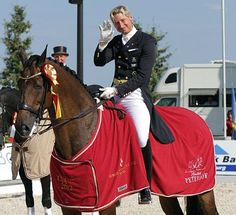 Patrik Kittel - Toy Story. Patrik is always so pleased when his horse does well - big pats and hugs :) He is adorable.