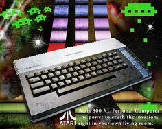 Atari 800XL- Spent many a happy hour with this beauty!