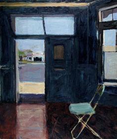 Interior with Doorway By Richard Diebenkorn ,1962