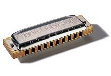 Hohner Blues Harp. I switched away from these years ago but picked one up recently when the music store didn't have my preferred brand in stock. Now I'm busy finding that good tone again...