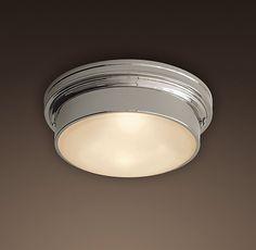 Bath Ceiling Light If Air Vent Is Elsewhere Parisian Architectural Poste Fl