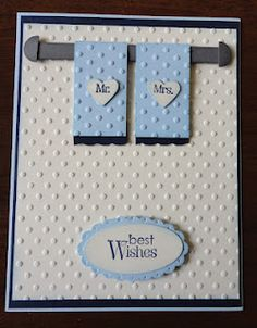 Indiana Inker - Wedding Card - Mr. & Mrs.