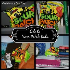 Ode to Sour Patch Kids - One woman's love story is your hilarious tale of humor.  Sisterhood of the Sensible Moms