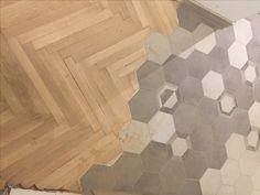hexagon tiles parquet