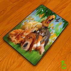 Cat Dog painting color animals Blanket