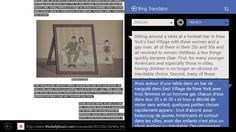 Bing Translator // Bing Translator app for Windows in the Windows Store. The Bing Translator App for Windows is your companion when you need to quickly translate what you are looking at. Use your camera or just type the text you want to translate. Text and camera translation work offline with downloadable language packs, so you can get the power of Bing Translator on-the-go, even when you don't have an Internet connection.