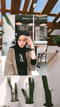 Hijab Fashion Summer, Modest Fashion Hijab, Modern Hijab Fashion, Street Hijab Fashion, Casual Hijab Outfit, Hijab Fashion Inspiration, Ootd Hijab, Hijab Chic, Ootd Fashion