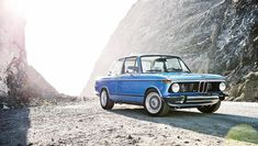 "CLASSY BMW 2002 ( ""First time I've ever seen one come blue."")   THG"