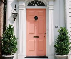 house, door and color