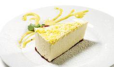 Leichter Low Carb Zitronen-Quark-Kuchen