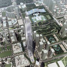 // Kohn Pedersen Fox / Pingan International Finance Center / Shenzen